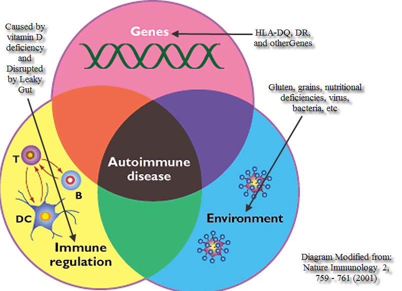 Genomic defects are linked to autoimmune diseases