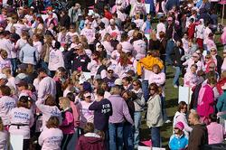 Making strides against breast cancer. Women live longer and can live healthier.