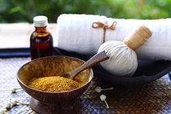 Turmeric bath for Psoriasis